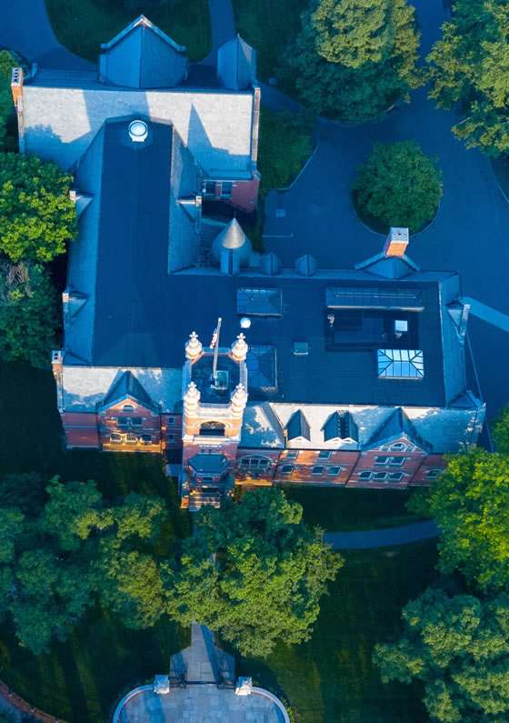smith college drone photo